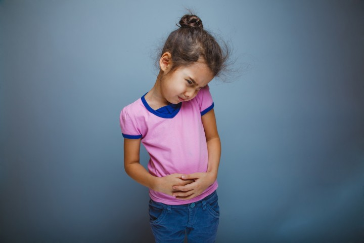 Treating stomach aches in children