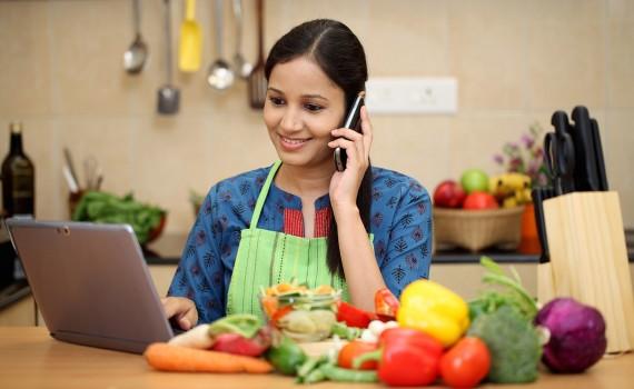 آن لائن سبزی کی خریداری میں اضافہ